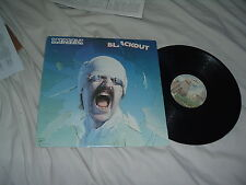 SCORPIONS Blackout '82 LP classic GERMAN metal ORIG US MASTERDISK !!! press NMin