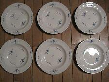 VILLEROY et BOCH   6 assiettes creuses Vieux Luxembourg 23 cm
