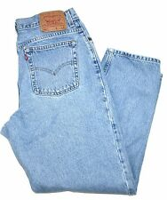 VINTAGE! Women's Levis 550 Relaxed Fit Tapered Leg High Waisted Jeans Sz 16 MIS