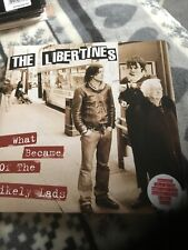 "THE LIBERTINES What Became Of The Likely Lads 7"" Black Vinyl Pic + Poster MINT"