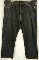 Levi's 501 XX Shrink To Fit Black Jeans Mens  Actual 42x29 Button Fly Tag 46x32