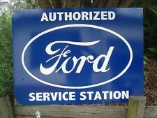 FORD SERVICE STATION ENAMEL SIGN (MADE TO ORDER) #86