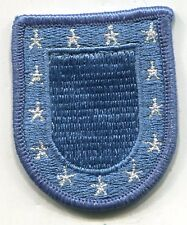 US ARMY BERET FLASH - BLUE
