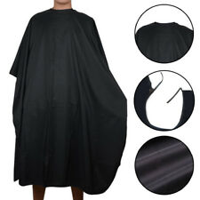 Black Pro Salon Hair Hairdressing Hairdresser Cutting Gown Barber Cape Cloth New
