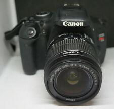 Canon EOS Rebel T3i 18MP Digital SLR Camera & 18-55MM Lens No Charger