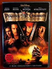 Pirates of the Caribbean - The Curse of the Black Pearl (DVD, Disney) - E1014