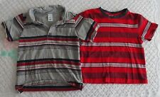 Baby Gap Old Navy 3T Boys Striped Shirts summer fall spring collar 3 years