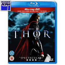 MARVEL - THOR Blu-ray 3D + 2D (REGION FREE)