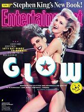 Entertainment WEEKLY~NEW SEASON OF GLOW + STEPHEN KING'S NEW BOOK~May 25, 2018