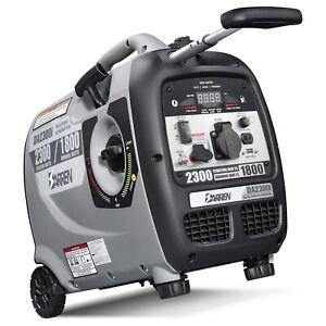 Portable Gasoline Generator Digital Silent Inverter Power Station Electric Gas