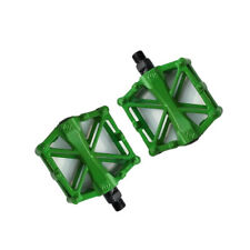 Mountain Road Bike Pedal Electric Bicycle Cycling Aluminum Alloy Durable Green