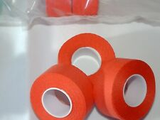 NOS 2 ROLLS  FLAME RED TRESSOSTAR CLOTH HANDLE BAR TAPE