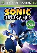 XBOX 360 SONIC UNLEASHED BRAND NEW VIDEO GAME