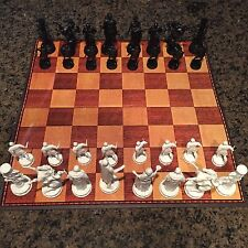 CLASSIC GAMES ANCIENT ROME CHESS SET GUC