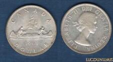Canada - 1 Dollar 1963 Elizabeth II Argent Silver Qualité TTB - SUP - Canada