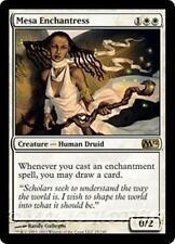 MESA ENCHANTRESS M12 Magic 2012 MTG White Creature — Human Druid RARE