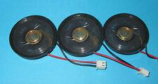 """3 x FTL Round Speaker 8ohm, .25W - 1.55"""" x .23"""" 40mm x 6mm SMALL THIN .25 WATT z"""