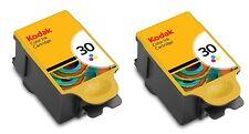 2x Kodak 30 Colour Ink Cartridges for ESP C310 Series Printers