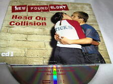NEW FOUND GLORY-HEAD ON COLLISION-CD1-3 TRACKS UK MINT CD