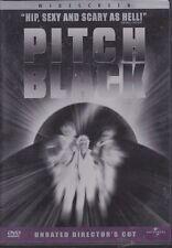 Pitch Black Dvd Radha Mitchell Hauser Vin Diesel 2000 Unrated