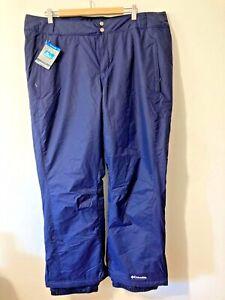 Columbia Modern Mountain 2.0 Waterproof Women's Sz XXL Snow Pants NWT