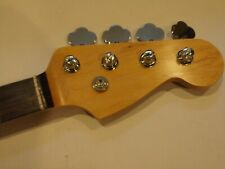 ALL PARTS BASS NECK ROSEWOOD for FENDER JAZZ NEW PRO, Tuners finished