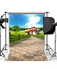 Trees Photography Backdrops 5x7FT Photo Props Grass Baby Background Vinyl GQ420