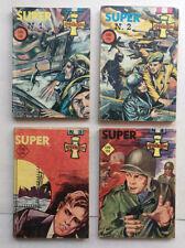 CROCE DI GUERRA Super 1/4 Serie Completa CANCELLIERI 1966 supplemento