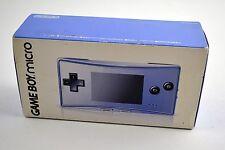 Nintendo Game Boy micro Blue Handheld System