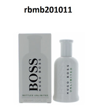 Boss #6 Bottled Unlimited by Hugo Boss for Men 3.3 oz Eau de Toilette Spray New