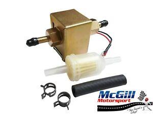 Electric Fuel Pump Universal 12V Petrol or Diesel 3-5PSI Carburettor Carb Diesel