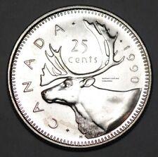 Canada 1990 25 cents Nice UNC - BU Canadian Quarter