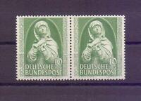 Bund 1952 - Germ. Museum - MiNr. 151 postfrisch** im Paar - Michel 34,00 € (211)