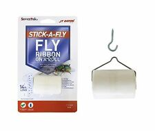 $averPak Single- 1 JT Eaton 14 Foot Long Stick-A-Fly Glue Fly Strip Ribbon