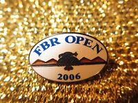 Phoenix Open 2006 PGA Golf Tournament Scottsdale Arizona Gold Pin NEW