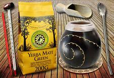 Yerba Mate TEE set mit Mate Green Silueta 200g und alle notwendigen Zubehör