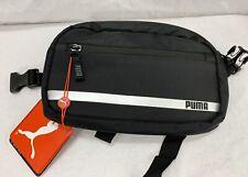 PUMA Formation Waist Bag BLACK Hipsack Bag *NEW* Jogging Running Pouch w/Pockets