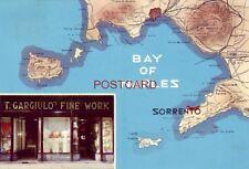 CONTINENTAL-SIZE 1969 T. GARGIULO'S FINE WORK, SORRENTO, NAPLES, ITALY