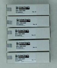3 LOT GE//INTERLOGIX SECURITY 600-1064-95R  WIRELESS FOUR BUTTON KEY FOBS ALARM