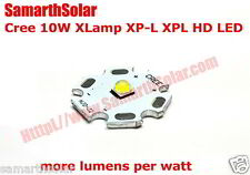 1Pc Cree XLamp XP-L XPL 10W High Density (HD) LED CoolWhite 20mm Heat Sink V6 1A