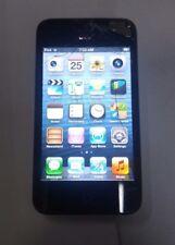 Apple iPod Touch 4th Gen. (A1367)-  Black-  8GB - Fully Functional- Read Below