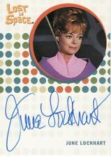 The Complete Lost in Space June Lockhart as Maureen Robinson Auto Card