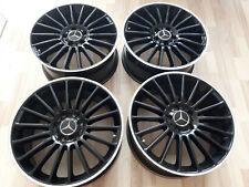 18 Zoll KT15 Alu Felgen Mercedes A C Klasse W204 W176 CLA AMG + RDKS + OE Kappe
