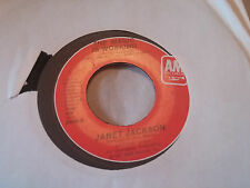 Janet Jackson 45 Young Love/The Magic is Working A&M 2440 Debut