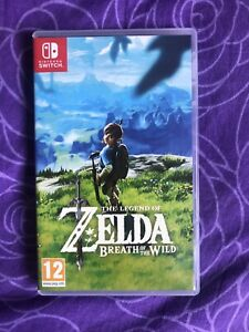 Zelda Jeu Switch The Legend Of Zelda Breath Of The Wild