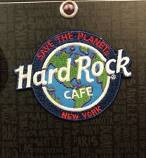 Hard Rock Cafe New York brand new Patch NYC Save The Planet