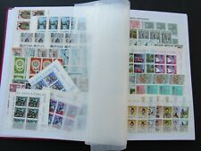 LUXEMBOURG - PRISTINE MNH COLLN OF SETS 1960/1994 IN BLOCKS OF 6 - CAT £4,800