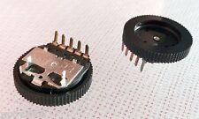 Alps 50k audio potenciómetro con rotativo ø16mm pins horizontalmente... 3-trozo