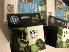 HP 65XL Tri-Color N9K03AN High Yield Ink Cartridge OEM UPC: 889894900753