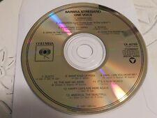 Barbra Streisand One Voice CD Disc Only 39-93